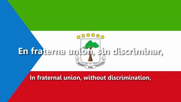 Equatorial Guinea - National Anthem - Caminemos pisando las sendas... (A...