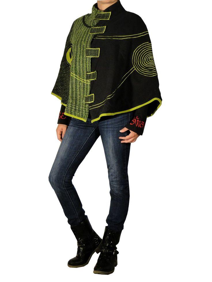 poncho ethnique chic de la marque Swamee sur http://www.echoppe-du-monde.com/poncho-ledar-vert-swamee-c2x14582365 Découvrez notre collection ethnique chic sur notre e-boutique.