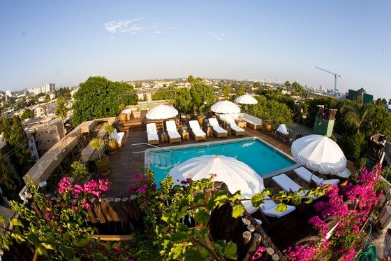 romantic hotels west hollywood california