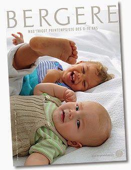 Bergère De France n°153 Tricot de 0 à 10 ans