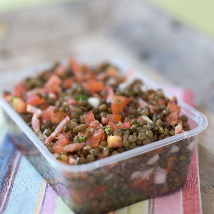 Les 110 meilleures images propos de recette sal e sur - Cuisiner les lentilles vertes ...