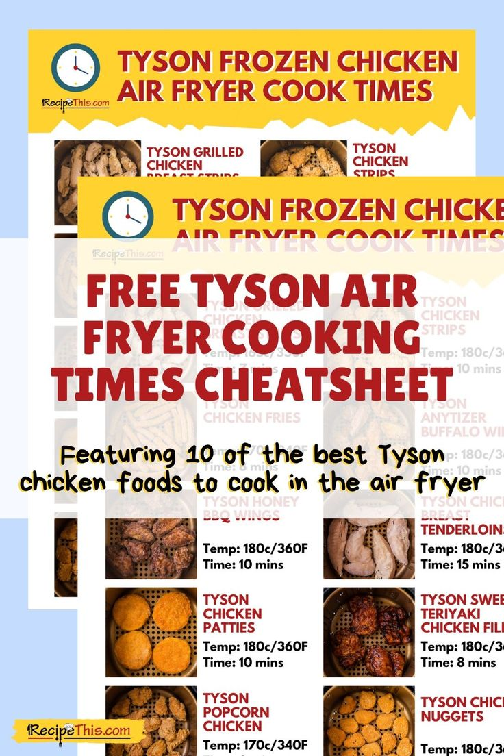 Tyson Chicken Nuggets In Air Fryer Recipe This Recipe