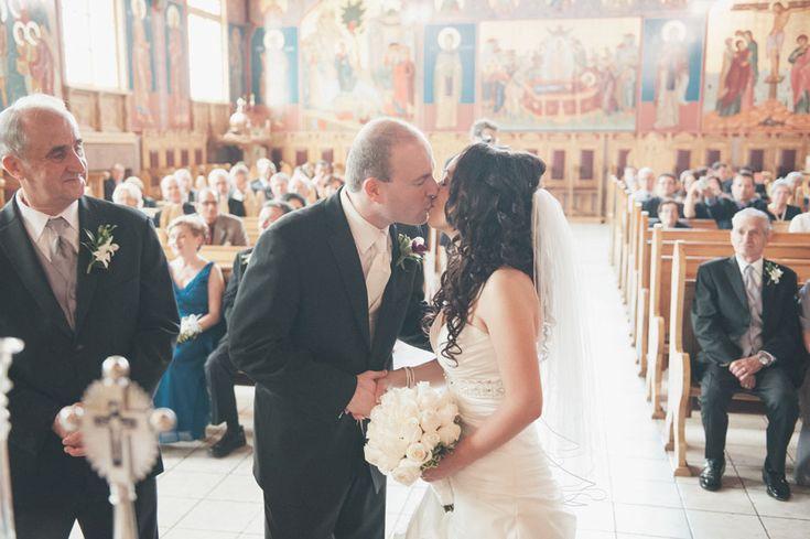 Wedding Photographers - Toronto Wedding Studios, 588 Eastern Ave, Toronto, ON, Canada, TEL(416)993-8995 | Andrea and Daniel | Orthodox Ceremony | Rosewater Room | http://www.torontoweddingstudios.com
