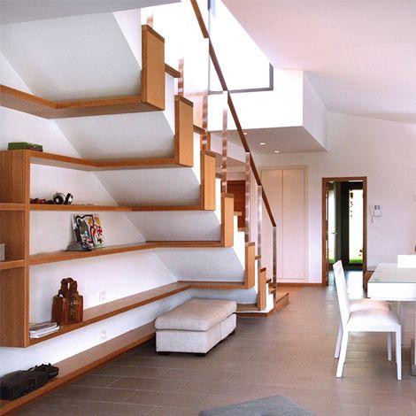 Las 25 mejores ideas sobre estantes bajo las escaleras en for Estanteria bajo escalera