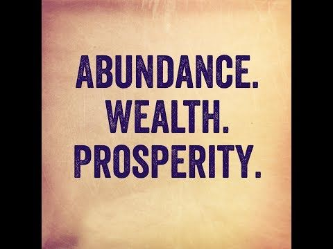 ▶ Wealth, How To Get It, and Why You Deserve It! (Law of Attraction) - YouTube