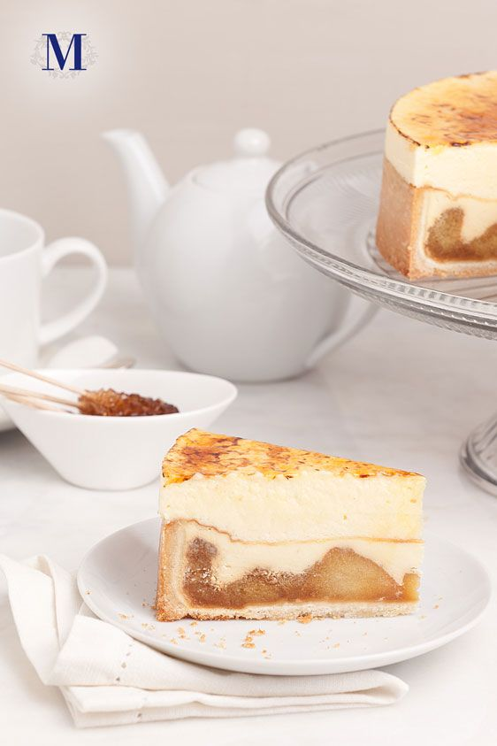 Flan aux Pomme FALL ONLY @ Lady M Confections