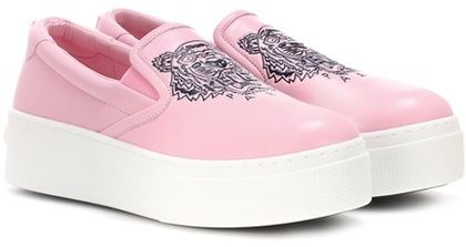 Kenzo Slip-on plateau sneakers