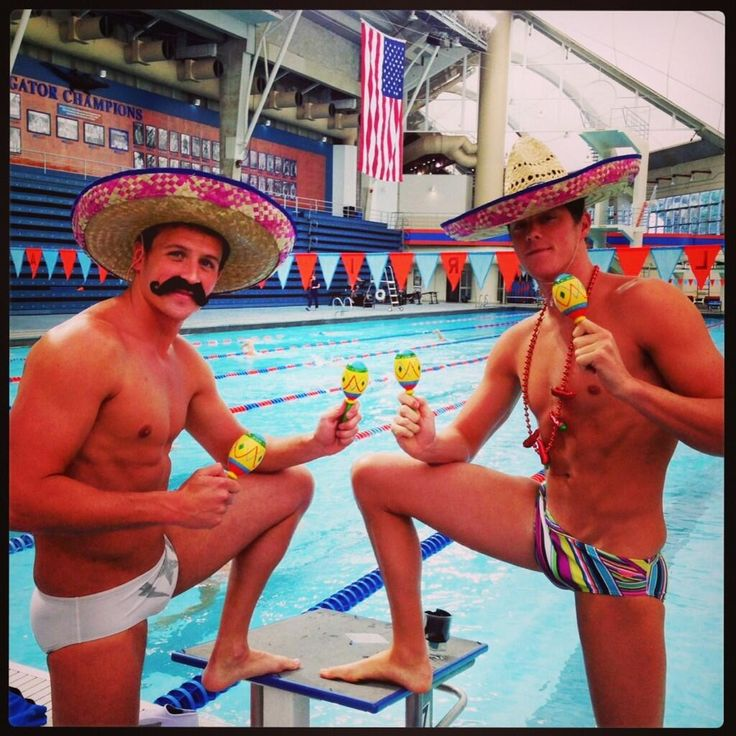 Ryan Lochte and Conor Dwyer Twitter / SpeedoUSA: @StephNicoleN Ask and you shall recieve...