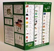 Persian alphabet card has everything you need to know to bond with the Persian alphabet.