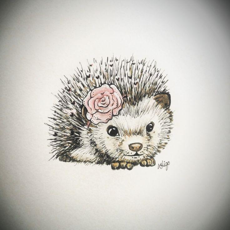 Rosey the hedgehog
