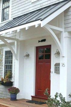 Make Your Own Awning Awning Over Door Build Doorway Awning ...