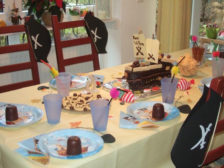 Kinder Piraten-Geburtstag /Pirates birthday party