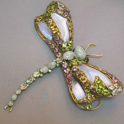 Spectacular Dragonfly Brooch