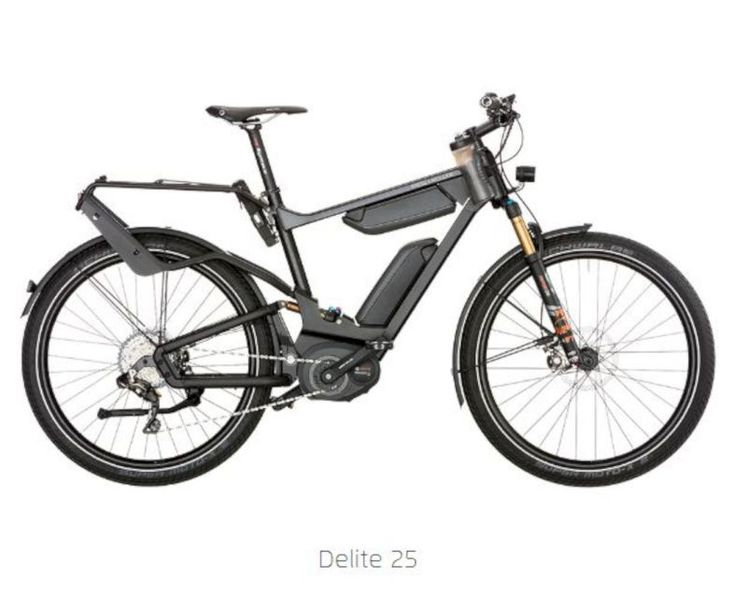 E Bike A Bicycle With Two Accelerators From Riese And