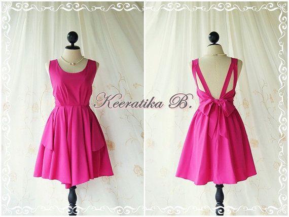 A Party  V Shape Dress  Cocktail Dress by LovelyMelodyClothing, $46.30