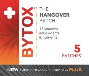 Bytox hangover patch 5 Pack