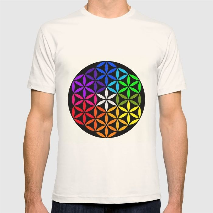 Secret flower of life T-shirt#stationerycards #iphone #ipad #laptop #tshirts #tank #longsleeve #bikertank #hoodies #leggings #throwpillow #rectangularpillows #ancientgreece #greece #metatron #cube #geometry