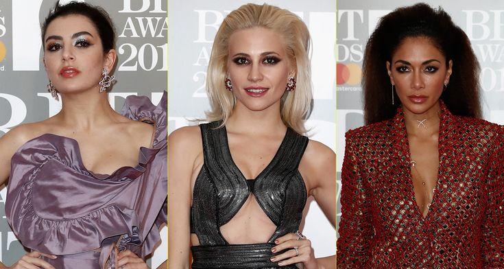 brit awards 2017 dresses   ... Brit Awards 2017   2017 Brit Awards, Charli XCX, Nicole Scherzinger