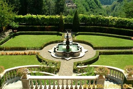 Italia jardines hermosos pinterest italia for Jardines de lujo