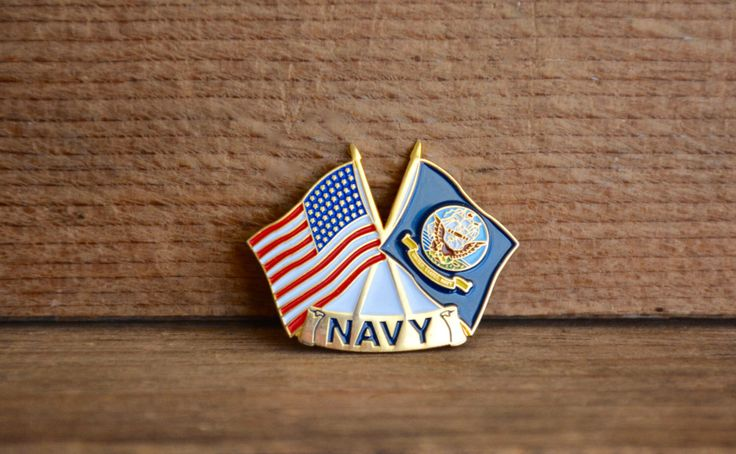 Vintage US Navy Lapel Pin, United States Navy Lapel Pin, Patriotic Pin, US Navy Flag, US Flag, Pin back Lapel Pin by DarbVintage on Etsy https://www.etsy.com/listing/500352397/vintage-us-navy-lapel-pin-united-states