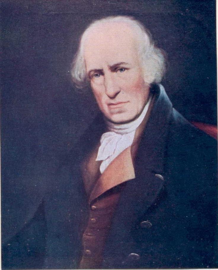 James Watt, dit is de uitvinder van de stoommachine.