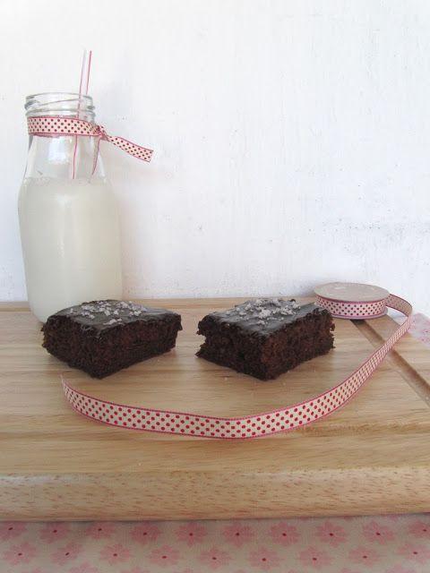 Ananás e Hortelã: Brownie de Chocolate e Flor de Sal
