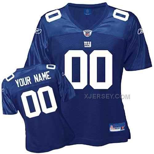 http://www.xjersey.com/new-york-giants-women-customized-blue-jersey.html Only$75.00 NEW YORK GIANTS WOMEN CUSTOMIZED BLUE JERSEY Free Shipping!