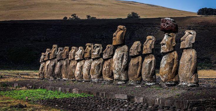 Путешествие в прошлое вместе с командой AirPano: идолы острова Пасхи, каменные столбы Каппадокии, город духов в Гватемале, храмовый комплекс в Камбодже...