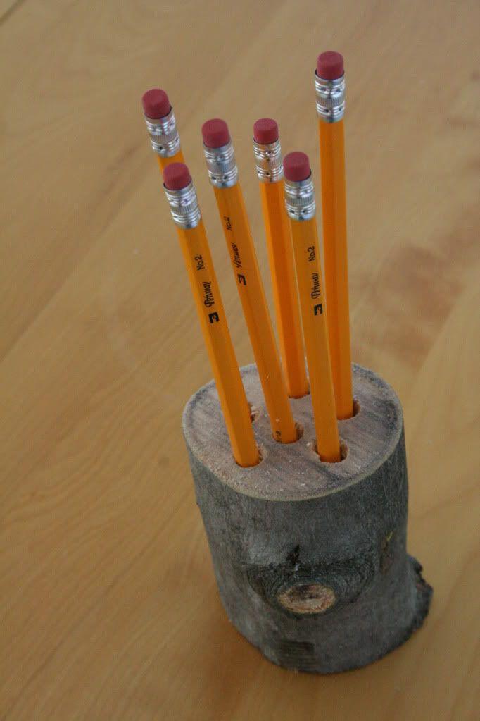 17 Best Images About Log Crafts On Pinterest Tea Light
