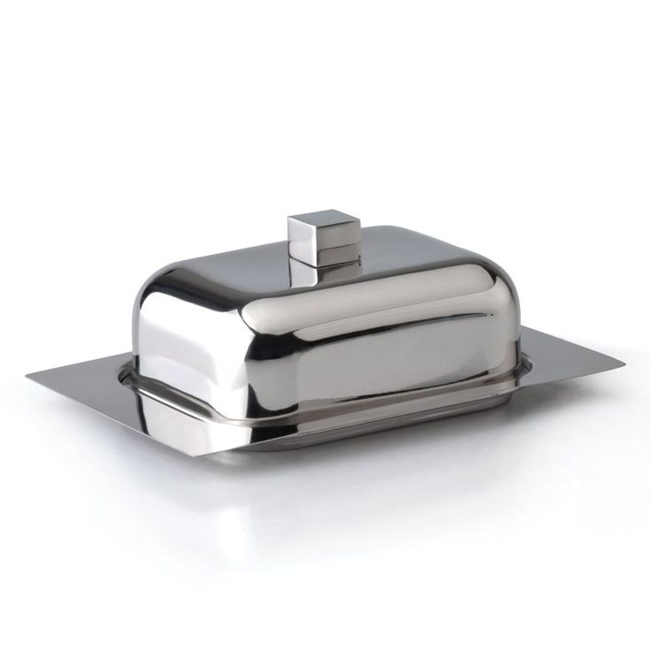 BergHOFF Cubo Stainless Steel Butter Dish - 1106274