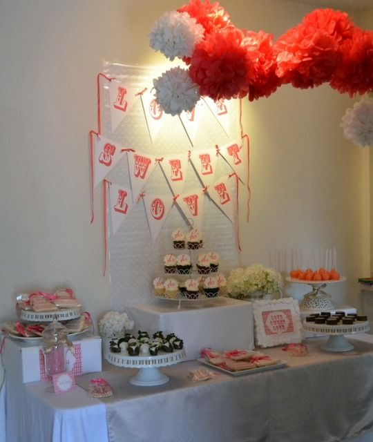"""Photo 1 of 20: Love Sweet Love / Bridal/Wedding Shower """"Love Sweet Love Shower"""" 