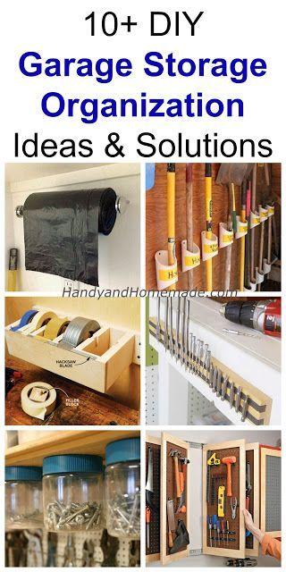 10+ DIY Garage Storage Organization Ideas And Solutions