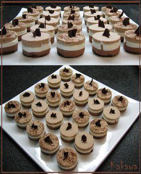 [foto] Mignon con mousse ai tre cioccolati