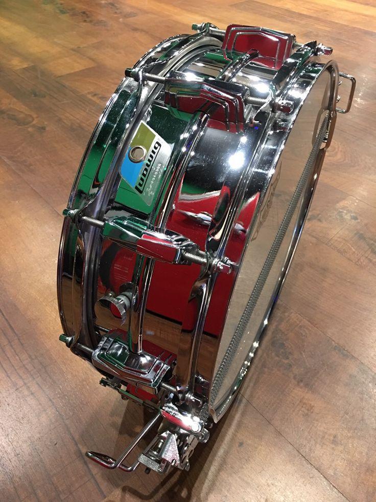 Ludwig LM410 Supersensitive 70's Ludalloy14×5 全面当たりのスナッピーサウンドで明瞭な粒立ち!サウンドスタジオノア中野店 03-5318-4110 #drum #music #studionoah #ドラム #スネア #Ludwig
