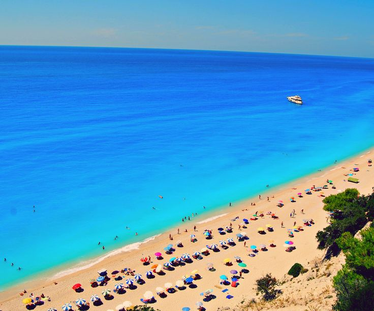 Egremni beach Lefkada -Greece