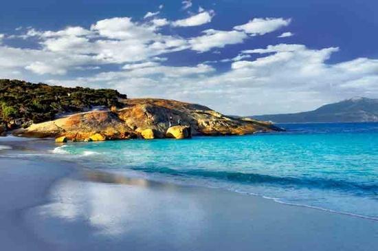 Little Beach, near Albany in Western Australia. The prettiest beach I've seen....