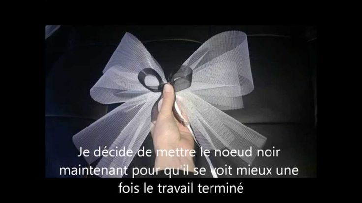 tuto noeud mariage pour voiture