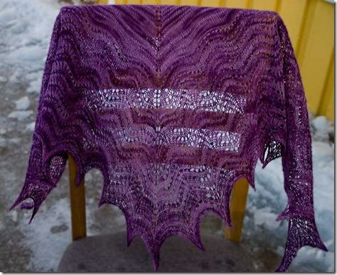 In the Land of Oz shawl