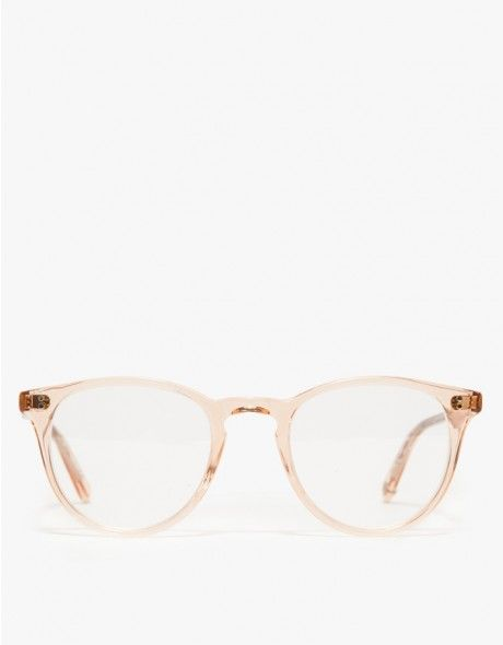 From Garrett Leight, rounded acetate sunglass frames with an iconic shape. Features keyhole bridge, pink crystal finish, and pure green lenses.   • Rounded acetate sunglasses • Pure green lenses • Keyhole bridge