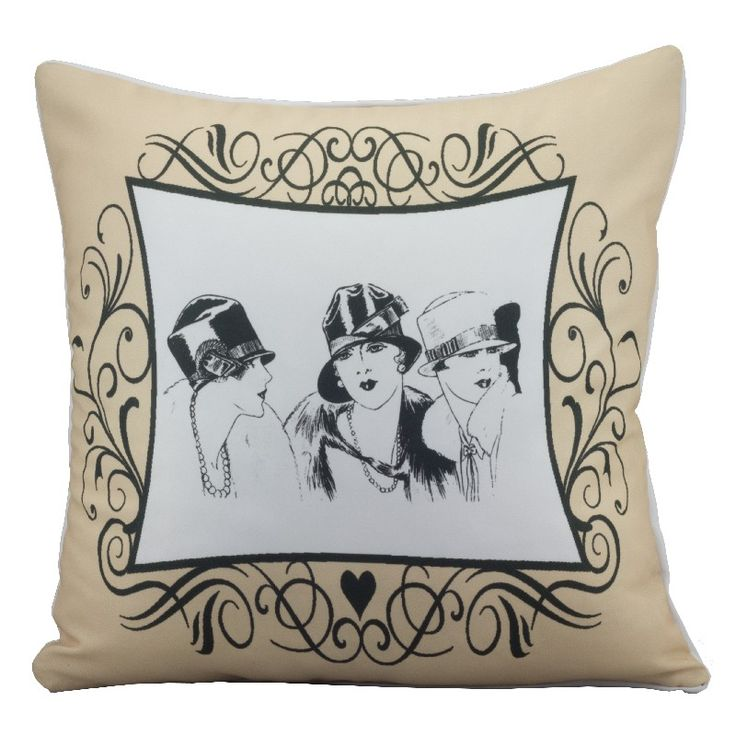 to frame an insert on the front of a pillow  mofada Relógio Fashion Ladies Creme - Col. Deluxe