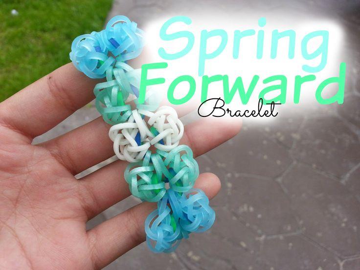 Spring Forward Bracelet Loom ~ How To