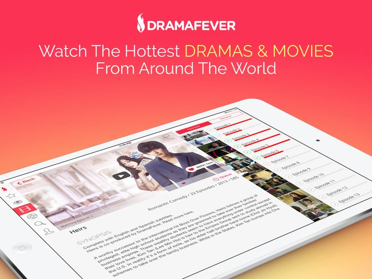Download DramaFever's App - Free!: