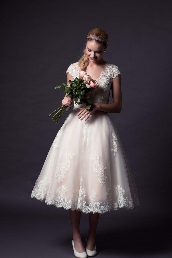 Beautiful and subtle <3 Rita Mae - 36 of the best retro wedding dresses