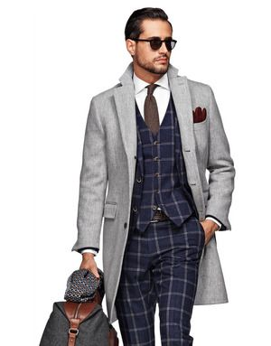Light Grey Coat by Suit Supply | His | Pinterest | Coats, Products