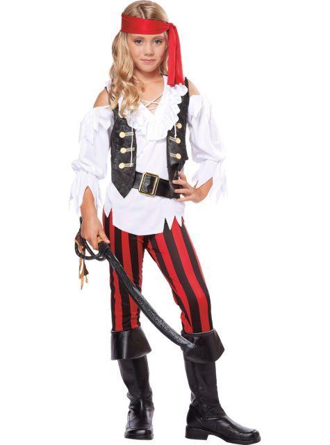 Divine? Girls Posh Pirate Costume - Party City
