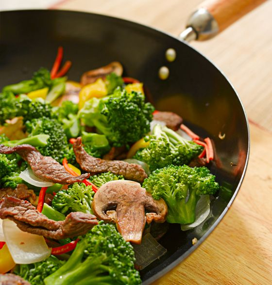 Maxines Burn : Beef & Vegetable Stir Fry (Just make sure to use GF sauces)