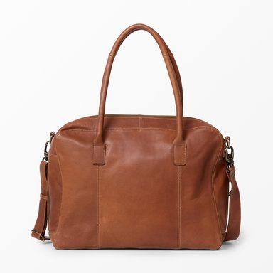 Väska, konjak