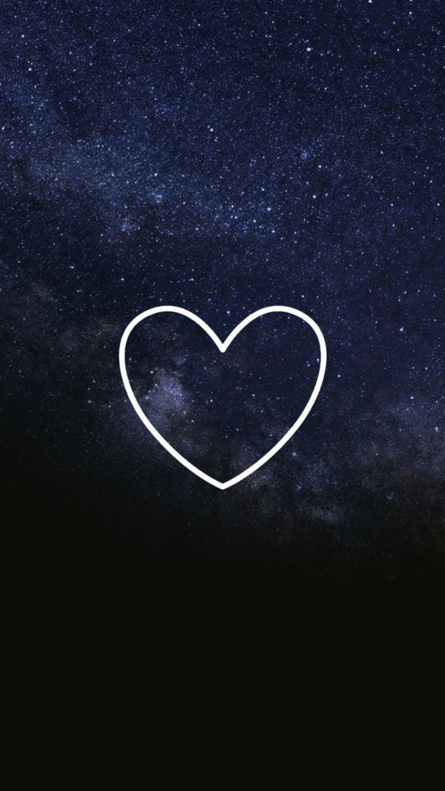 обои сердца на айфон фотографий, которая висит