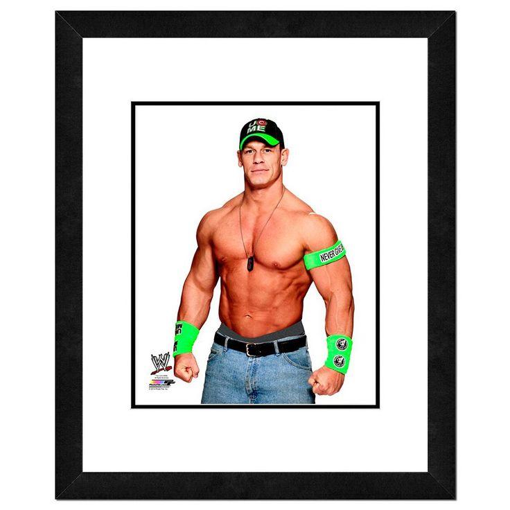 "John Cena Framed 11"" x 14"" Photo, Multicolor"