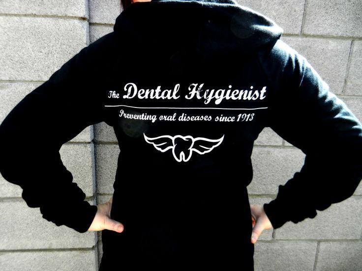 dental hygiene jewelry | Dental Hygienist Hoodie in Black. $43.00, via ... | All things Dental ...